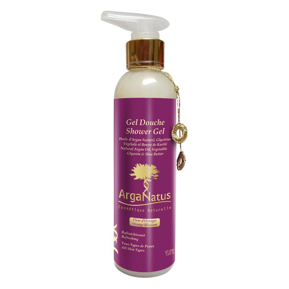Gel de ducha Flor de naranja: Productos de Argan Aceite Puro