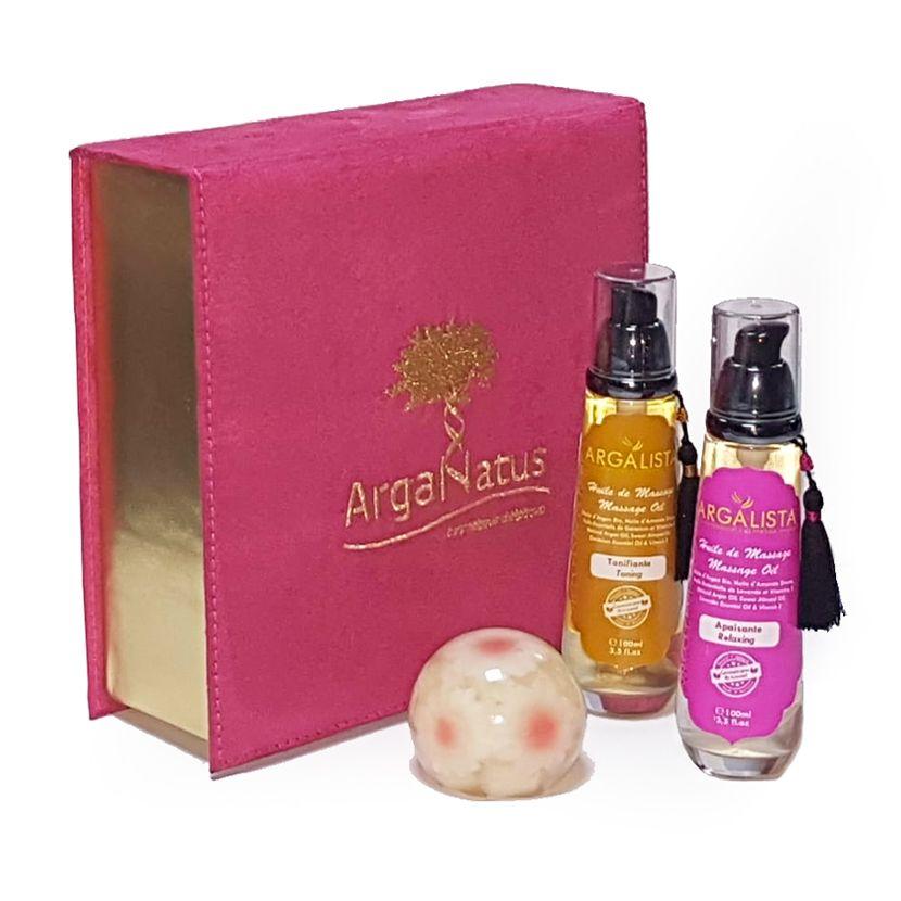 Cofre caja de Antidolor: Productos de Argan Aceite Puro