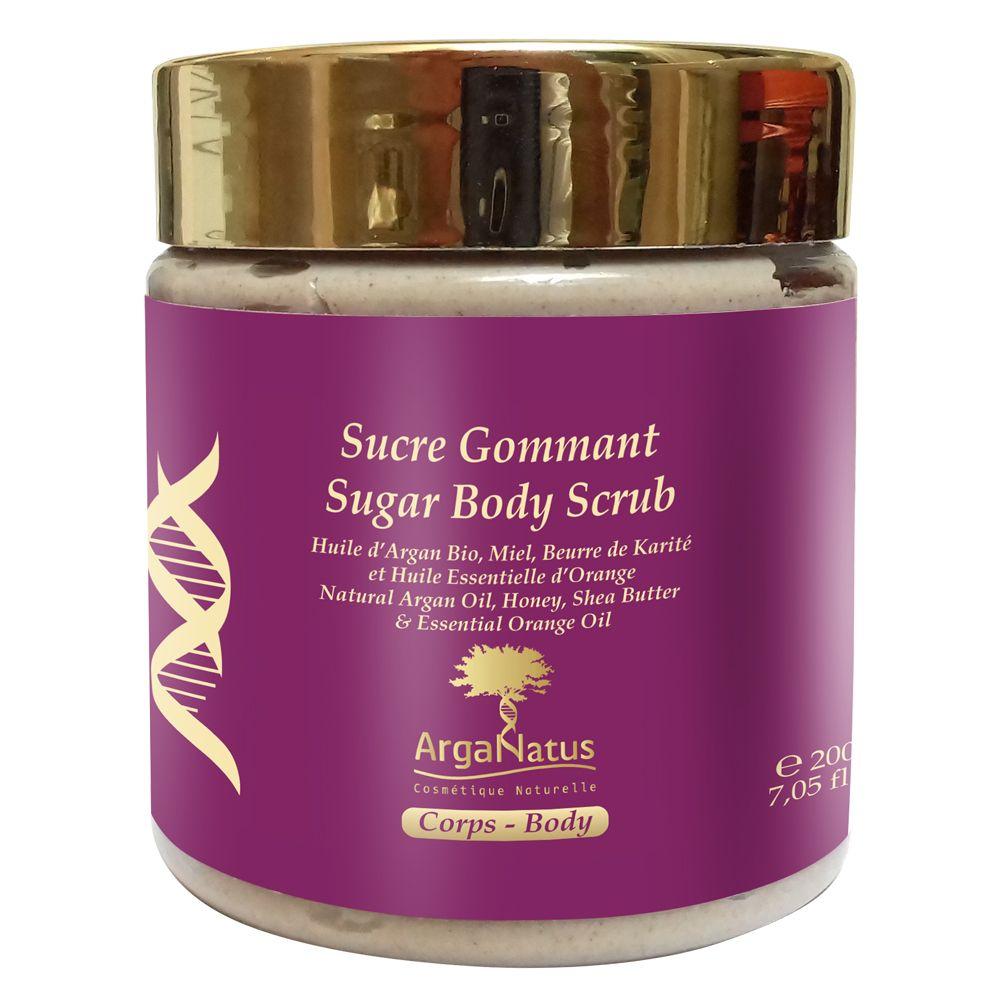 Exfoliante corporal de azúcar: Productos de Argan Aceite Puro