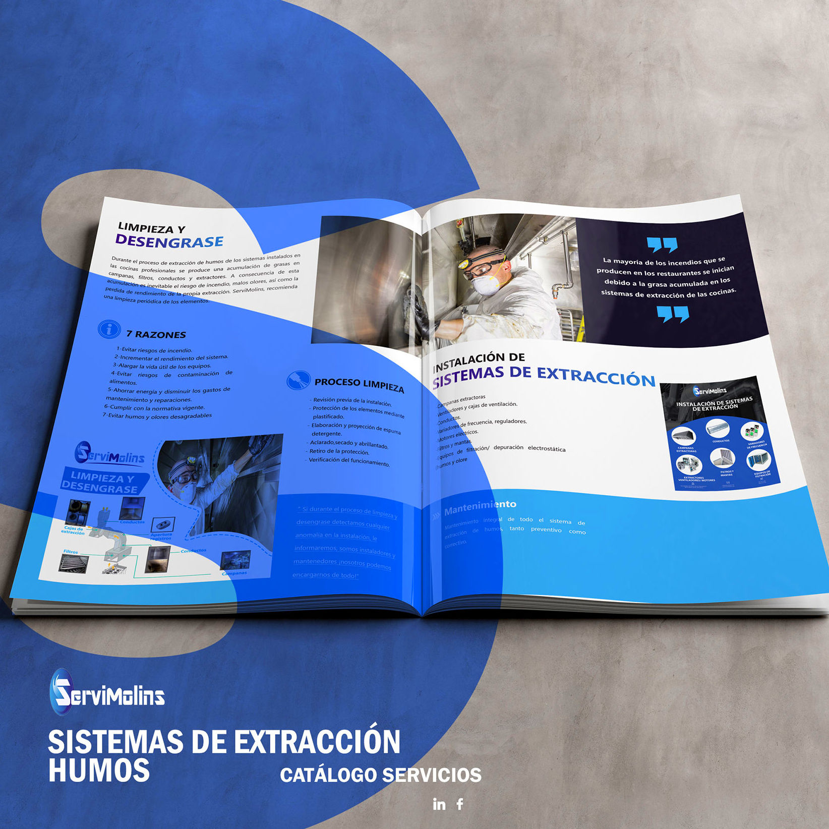 Catálogo ServiMolins : Servicios de Servimolins