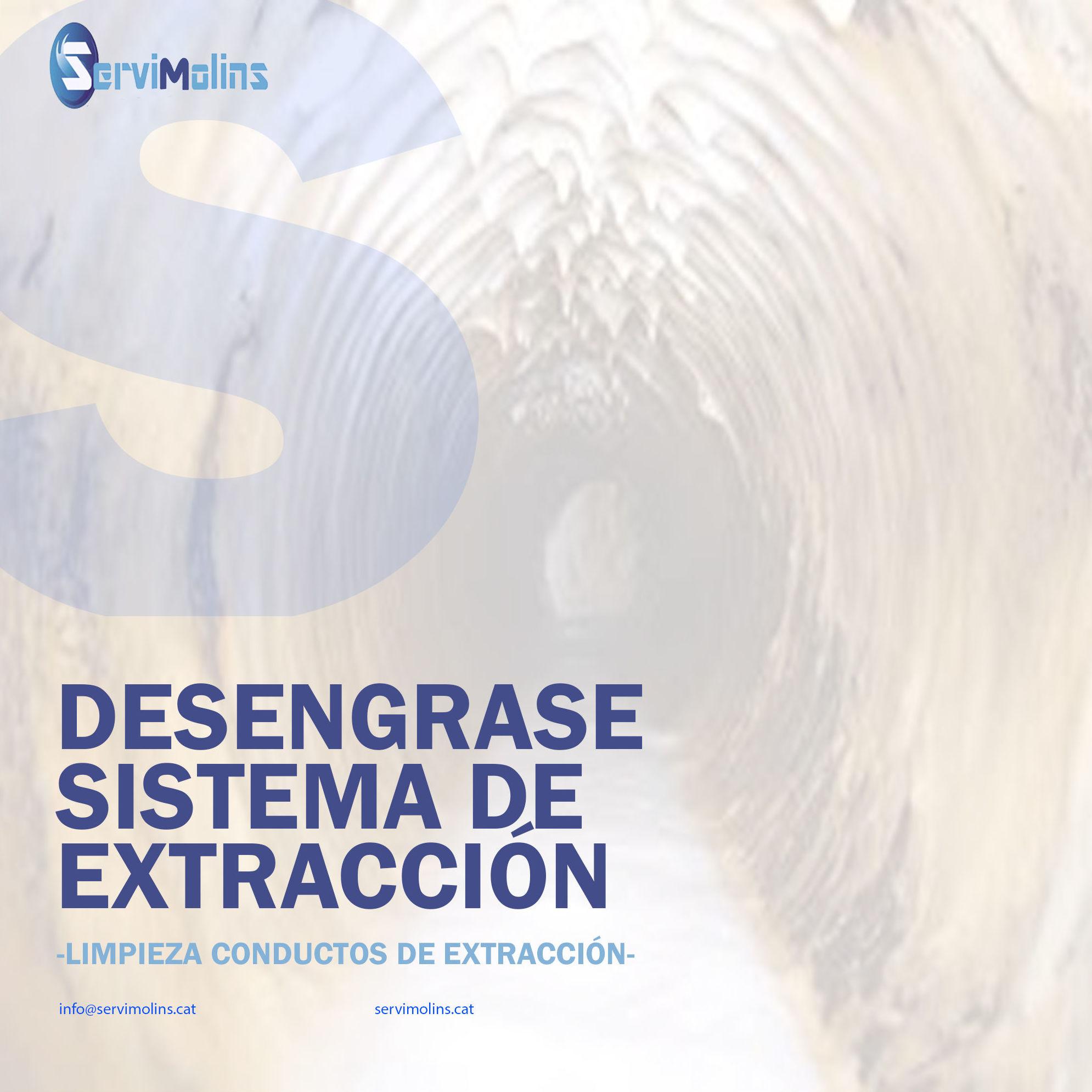 limpieza conductos extracción Menorca