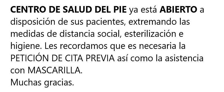 Foto 1 de Fisioterapia en Alcorcón | Centro de Salud del Pie