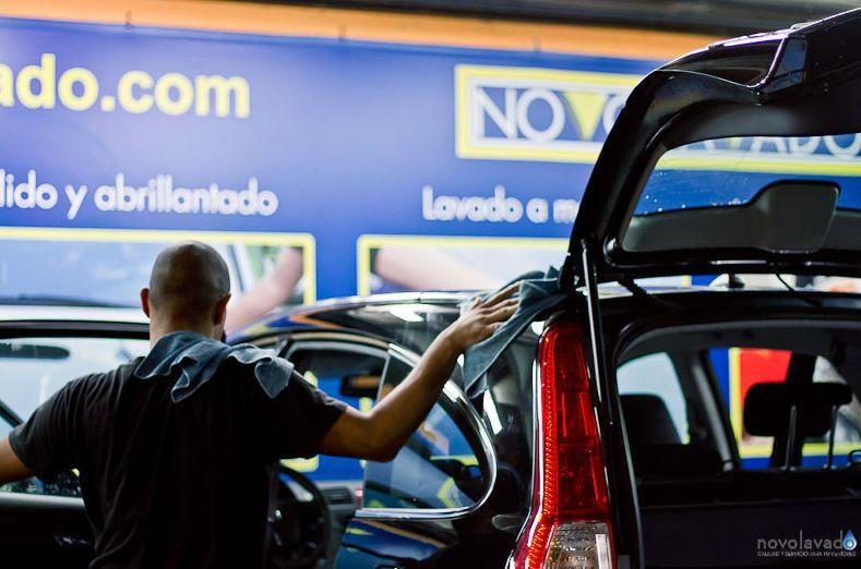 Limpieza de coches en Alcobendas