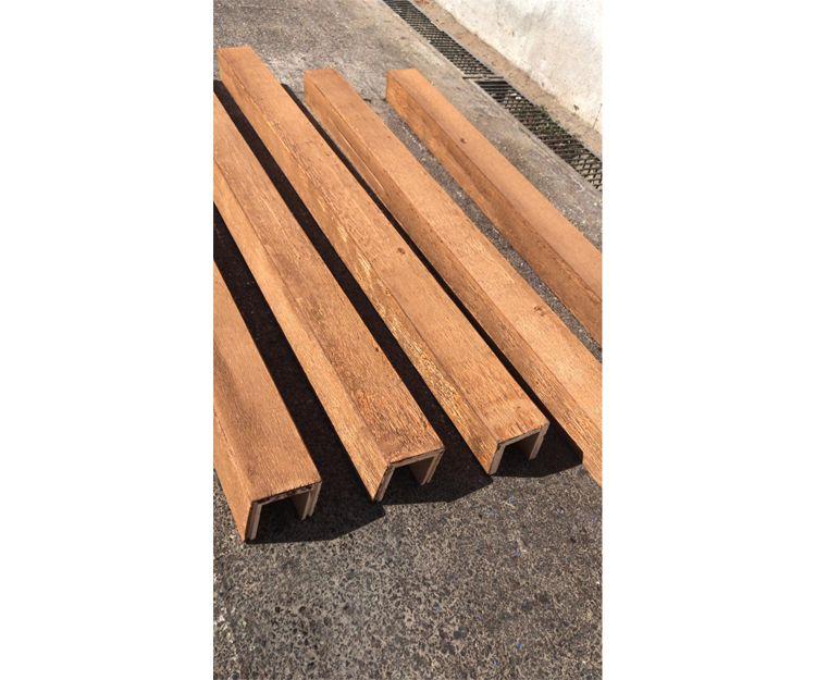 Paneles con acabado en madera en Madrid