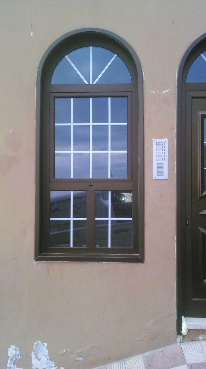Realización de ventanas de aluminio