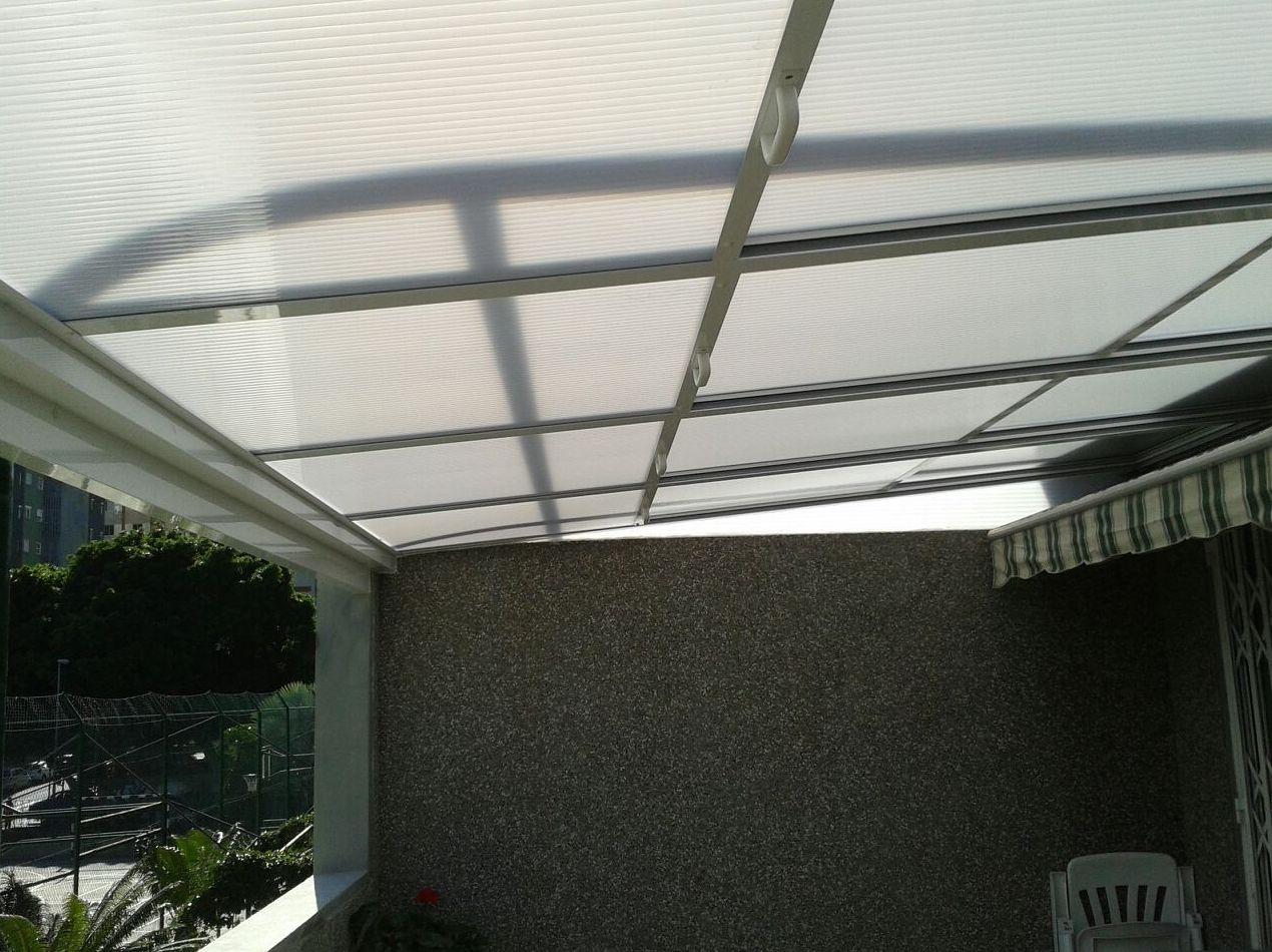 Techo movible de aluminio para terraza