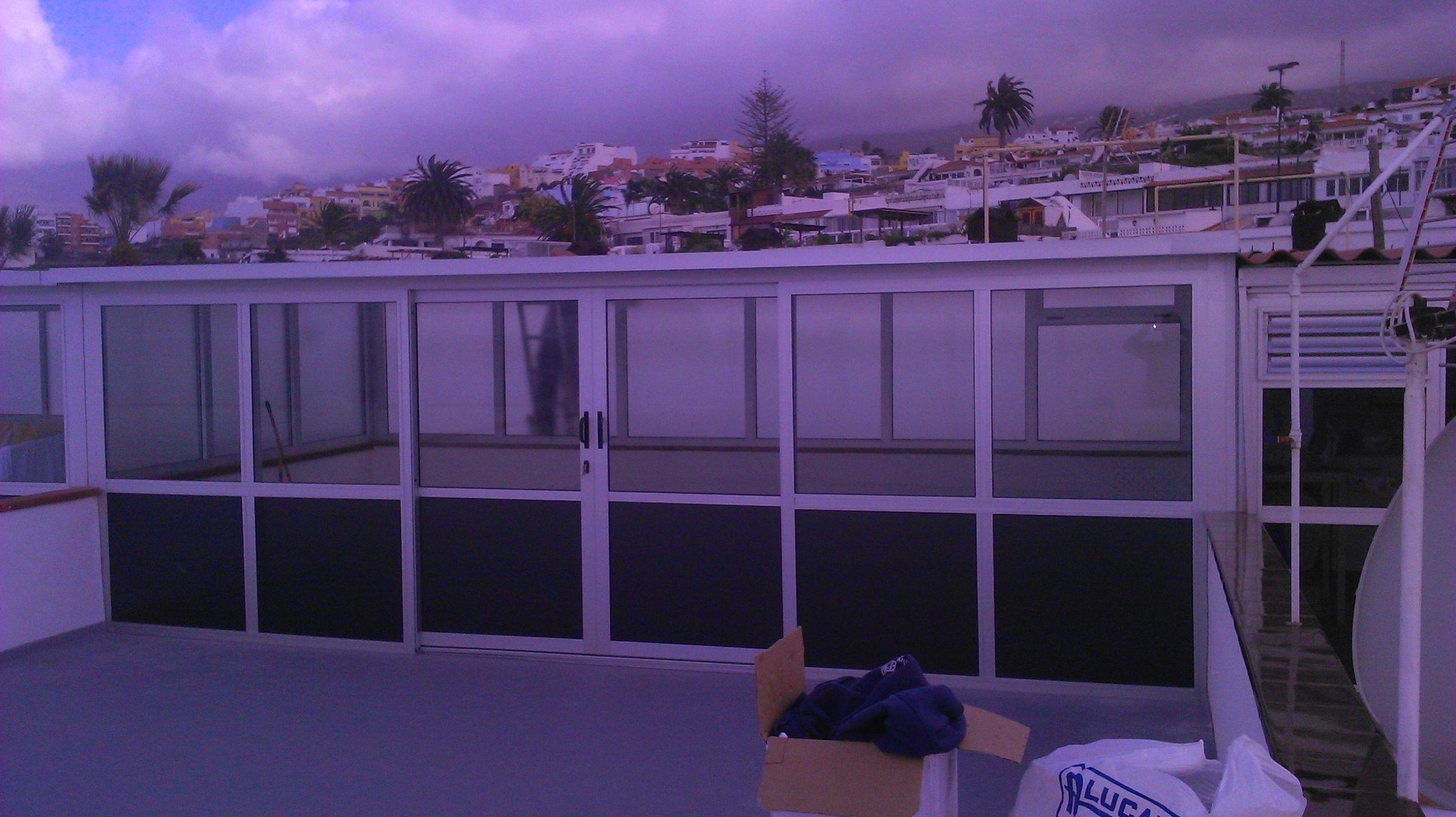 cerramiento de terraza
