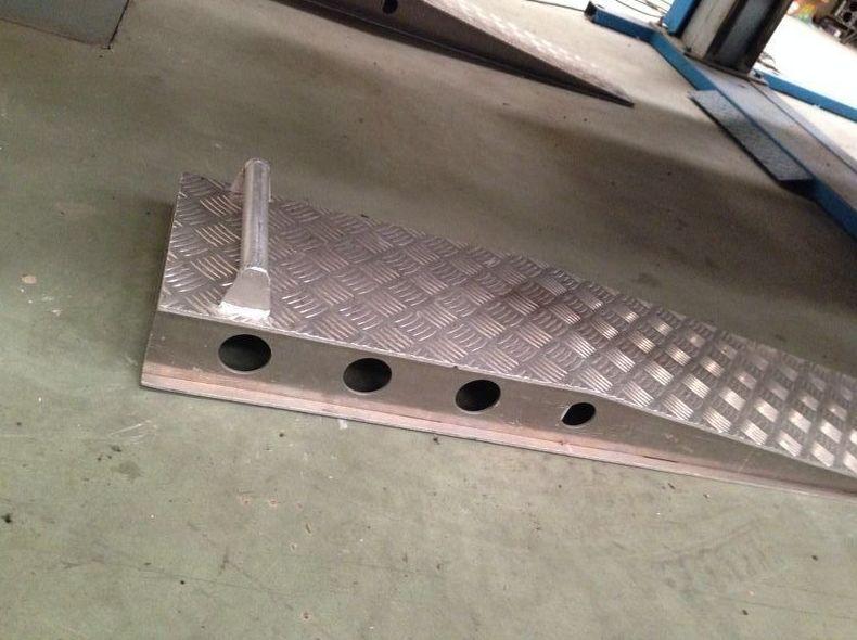 Rampa de aluminio