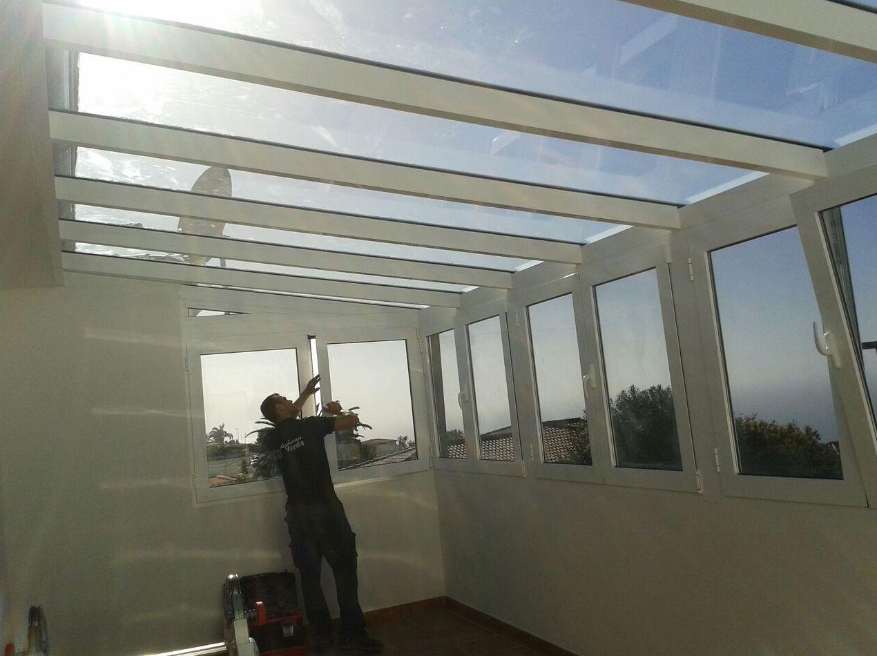 Terraza Cerrada Con Aluminio Y Cristal