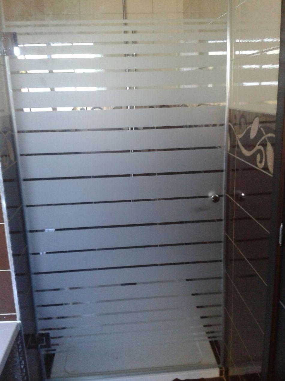 Puerta de ducha de cristal