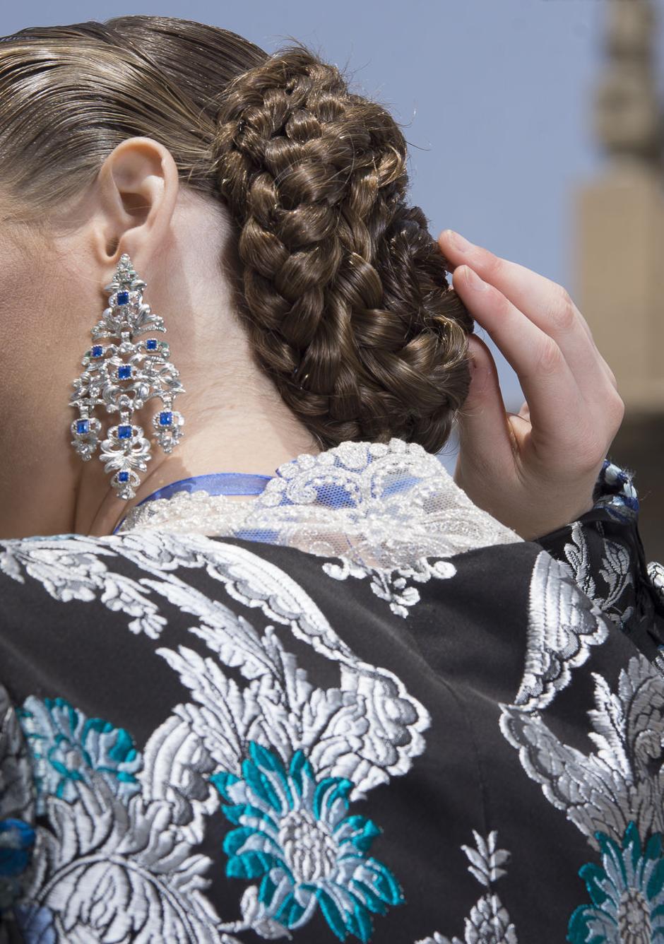Peinados de fallera: Servicios de Esther Ruiz Peluquería y Estética