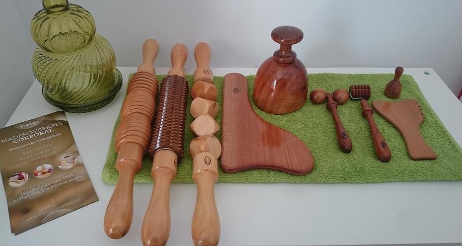 Instrumentos para maderoterapia