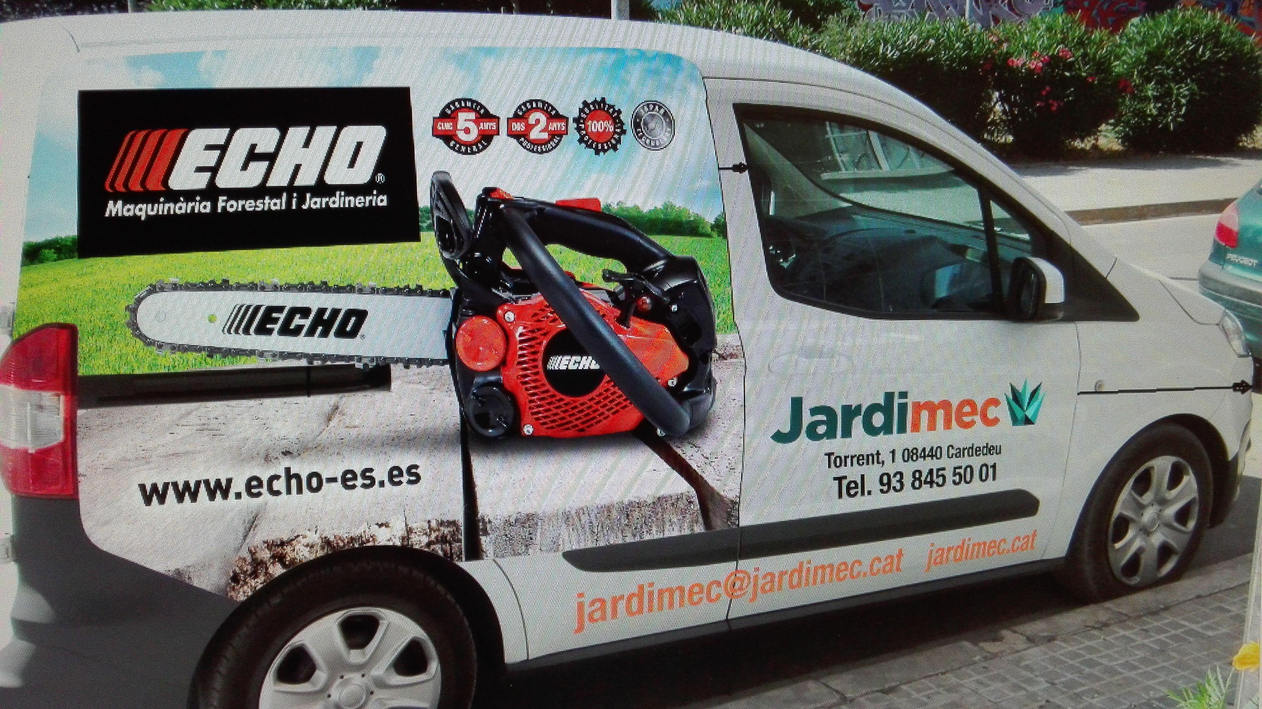 Reparación maquinaria jardinería Cardedeu