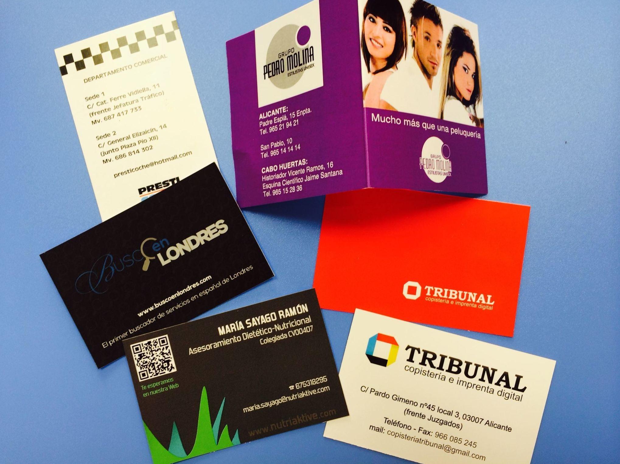 Impresión de documentos de publicidad