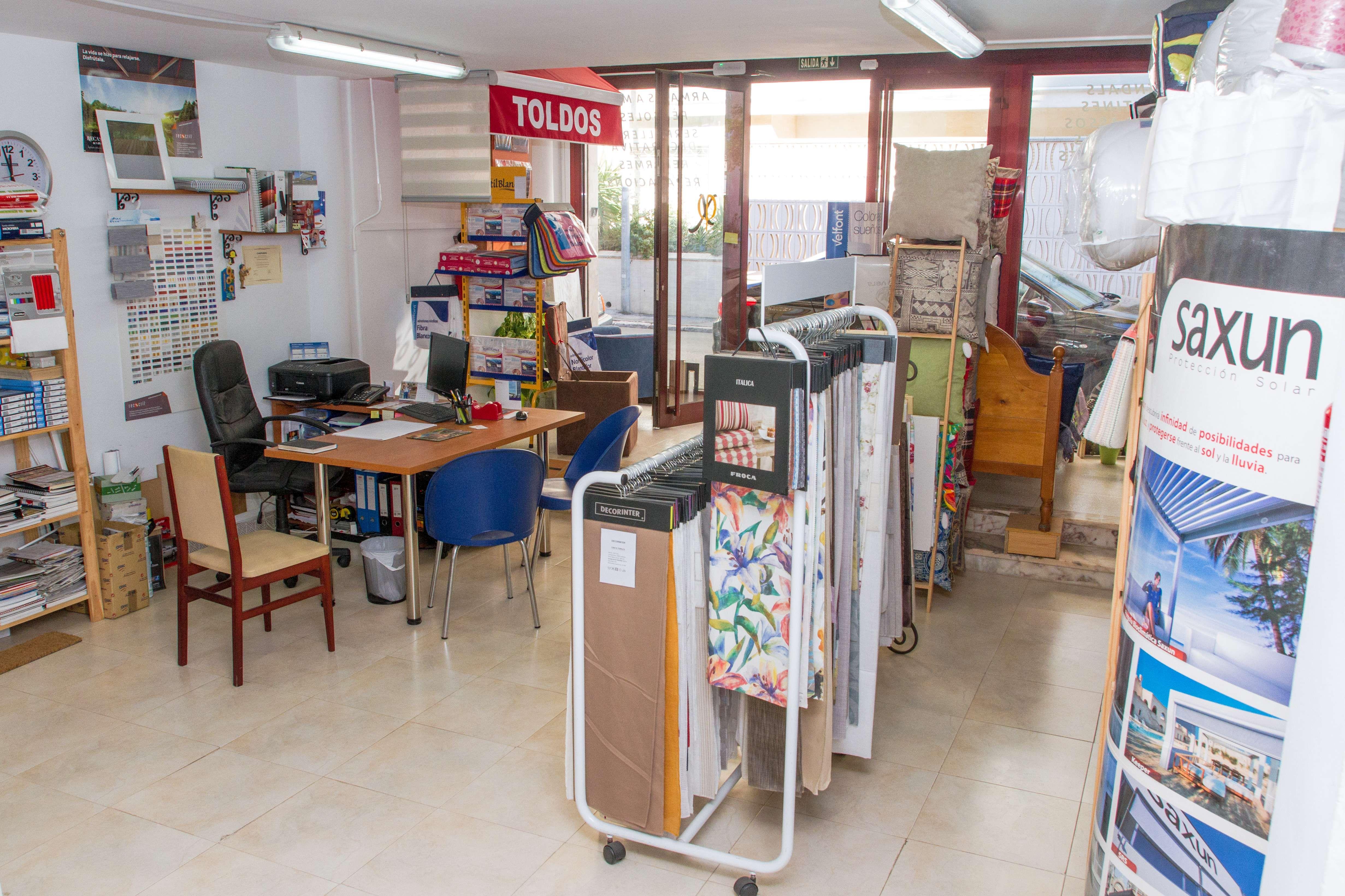 Tienda de cortinas y decoración en Calafell