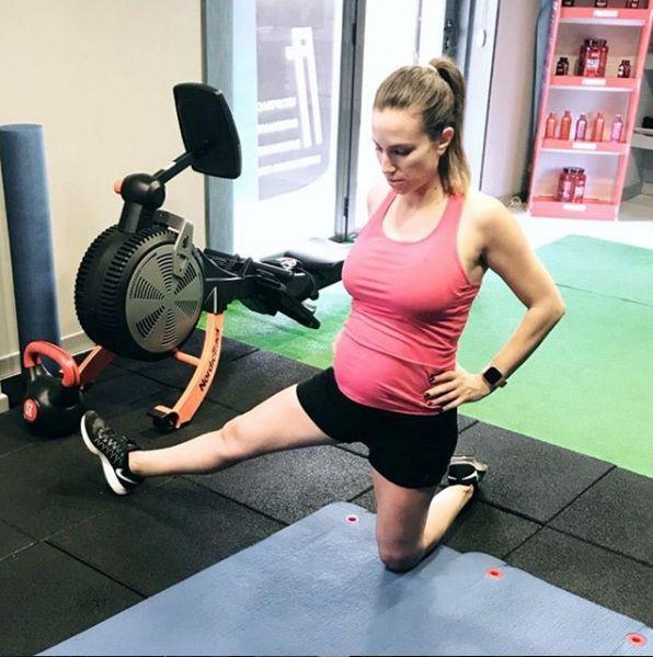 Entrenamiento para embarazadas en Sanchinarro