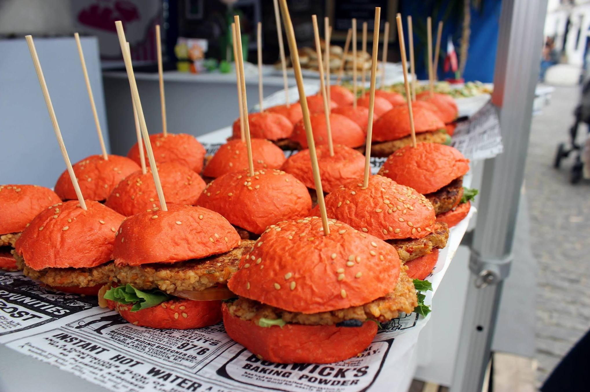 Gran variedad de Montaditos especial para Ferias y Catering..