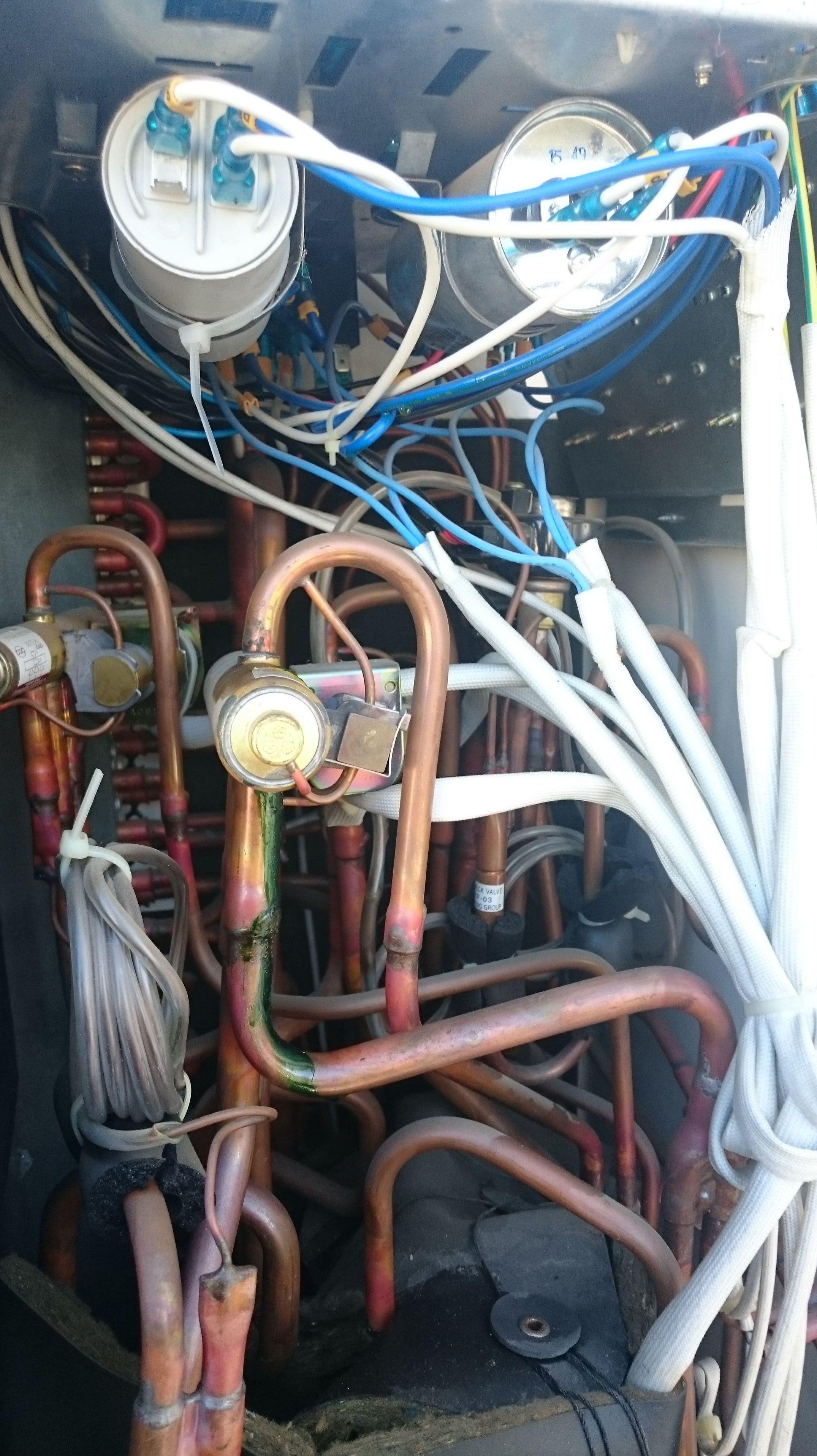 Reparación de condensador de arranque