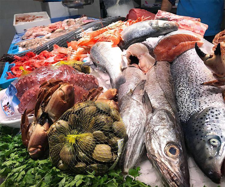 Venta de pescado fresco en Valencia