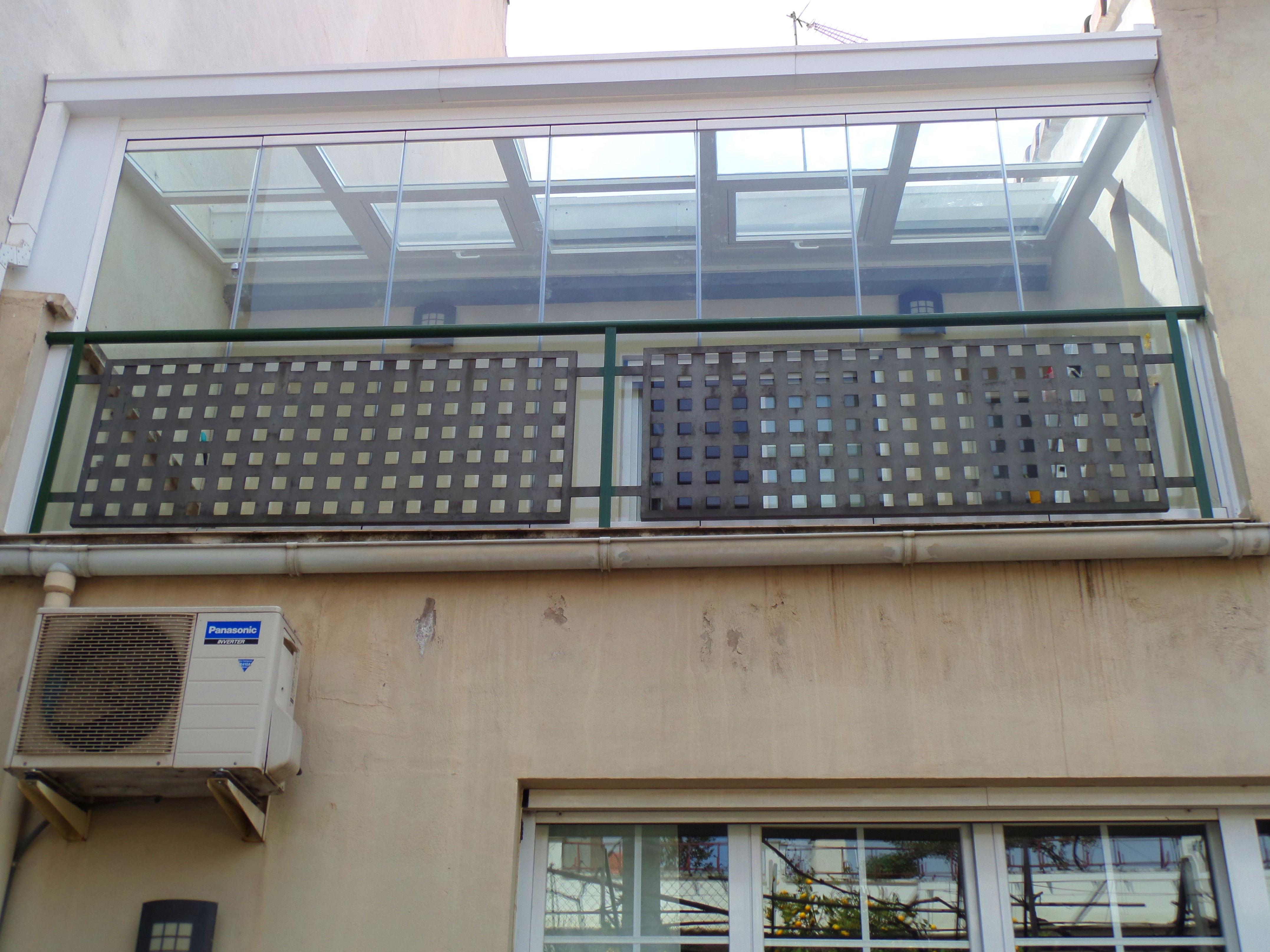 Cerramientos de galería: Productos y Servicios de Aluminios Paules