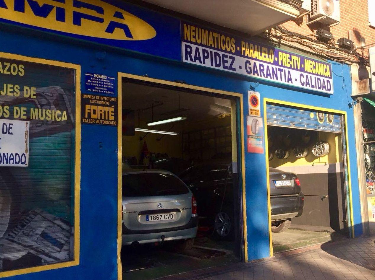 Taller Mecánico Móstoles: Servicios de Pampa Centro del Automóvil