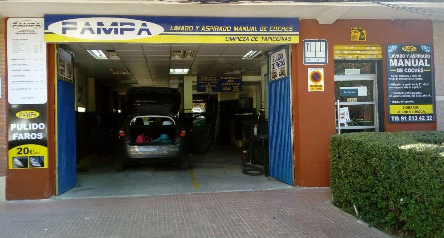 Pulido de carrocerías Alcorcón y Móstoles: Servicios of Pampa Centro del Automóvil