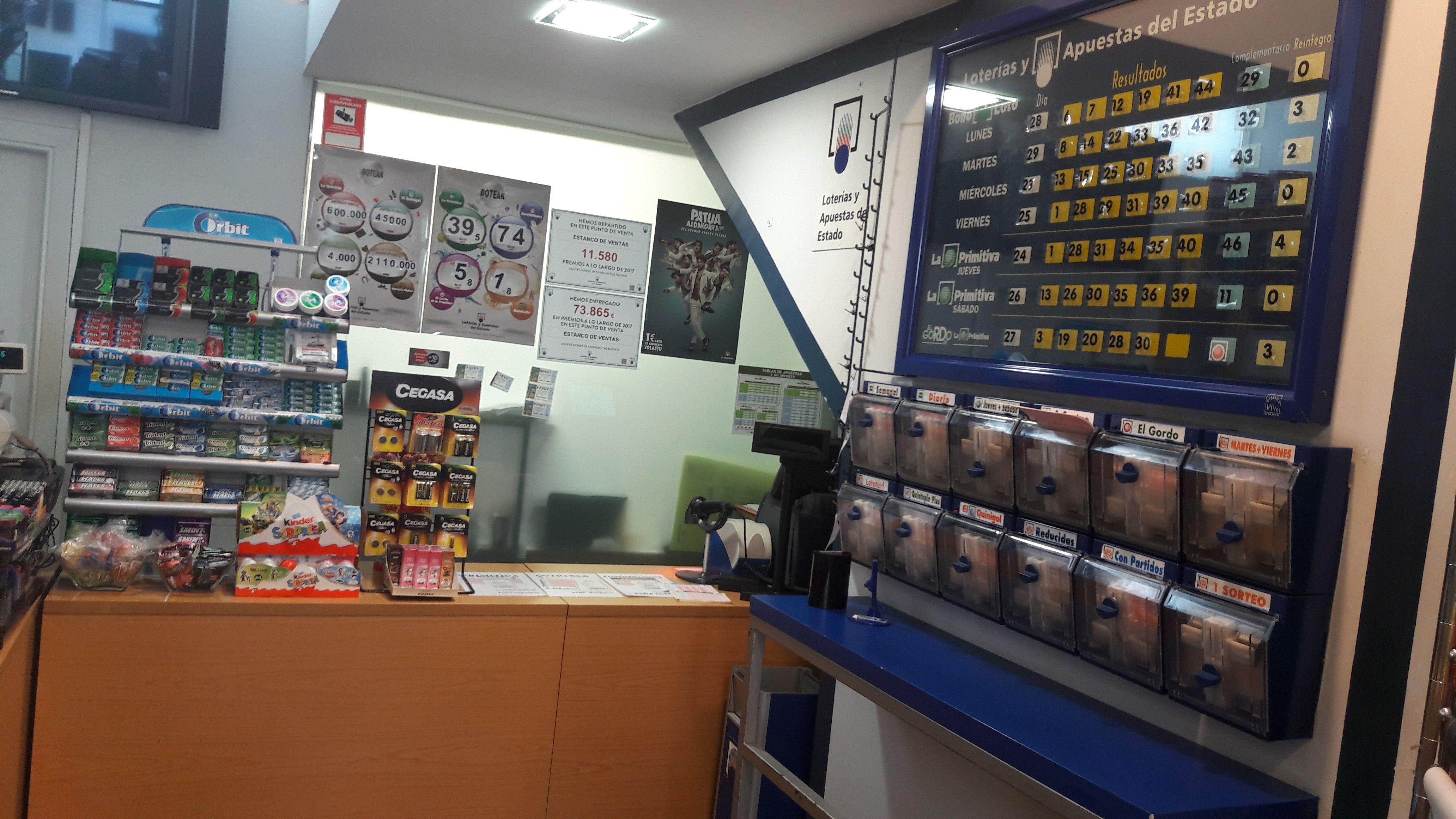 Echa lotería en Irún