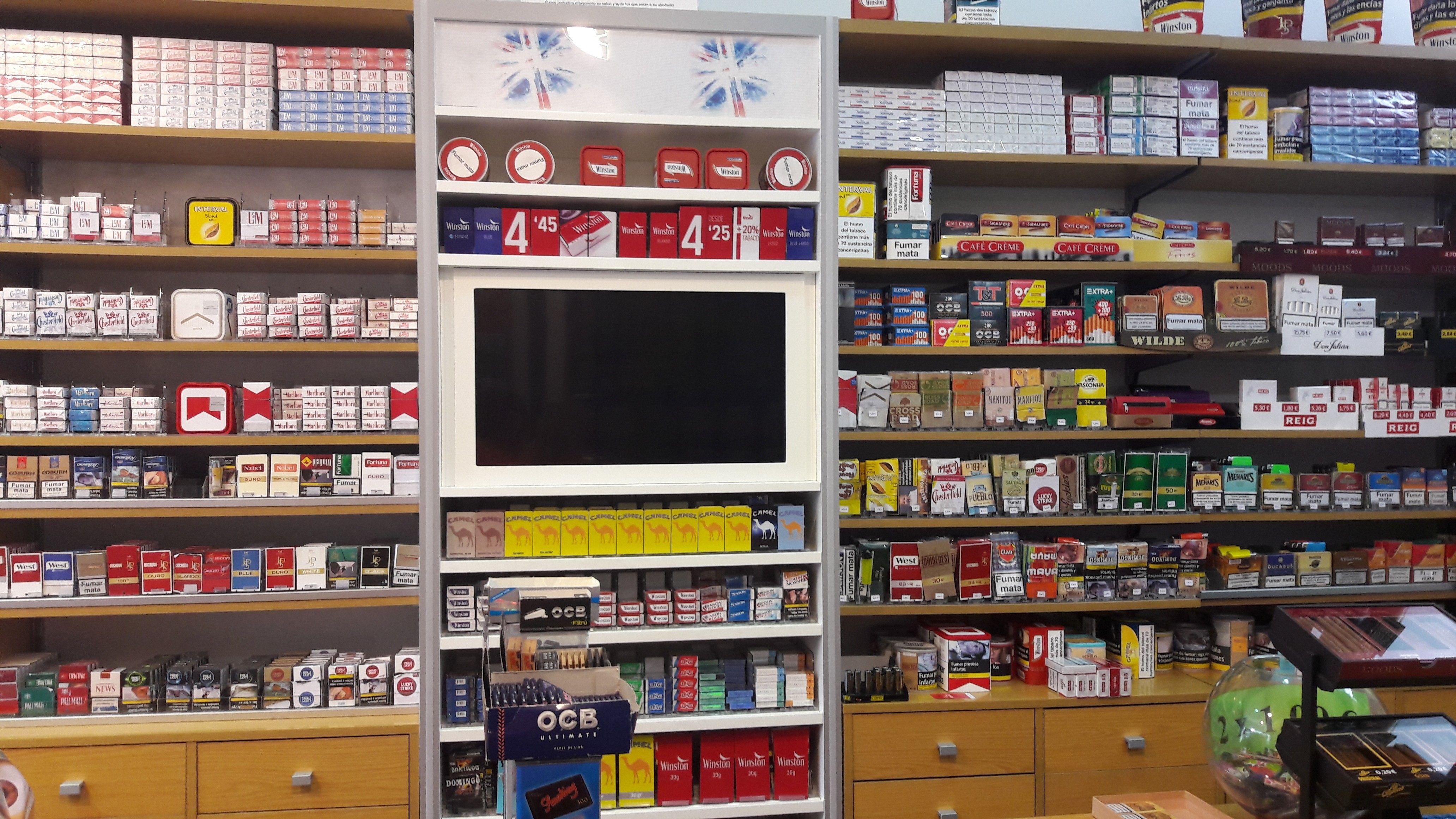 Tabaco: Productos y servicios de Estanco de Ventas