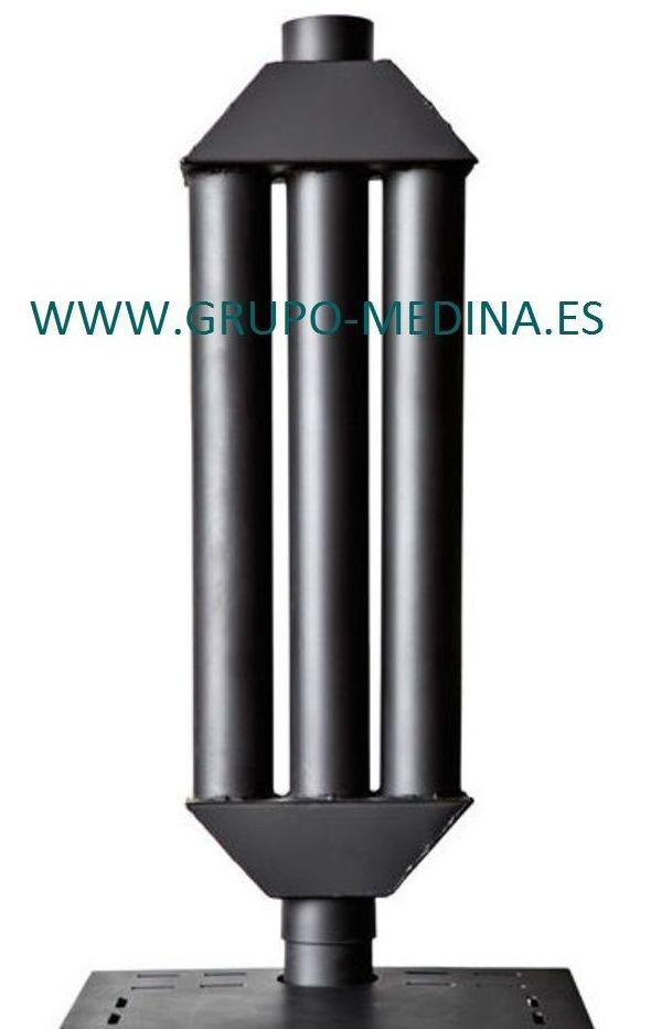 Radiadores para las estufas de hueso cascara pellets for Estufas de lena para radiadores de agua precios