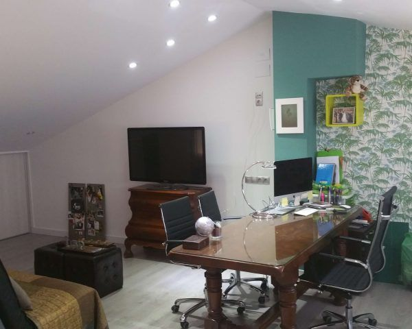 Eliminación de gotelé y pintura en paredes