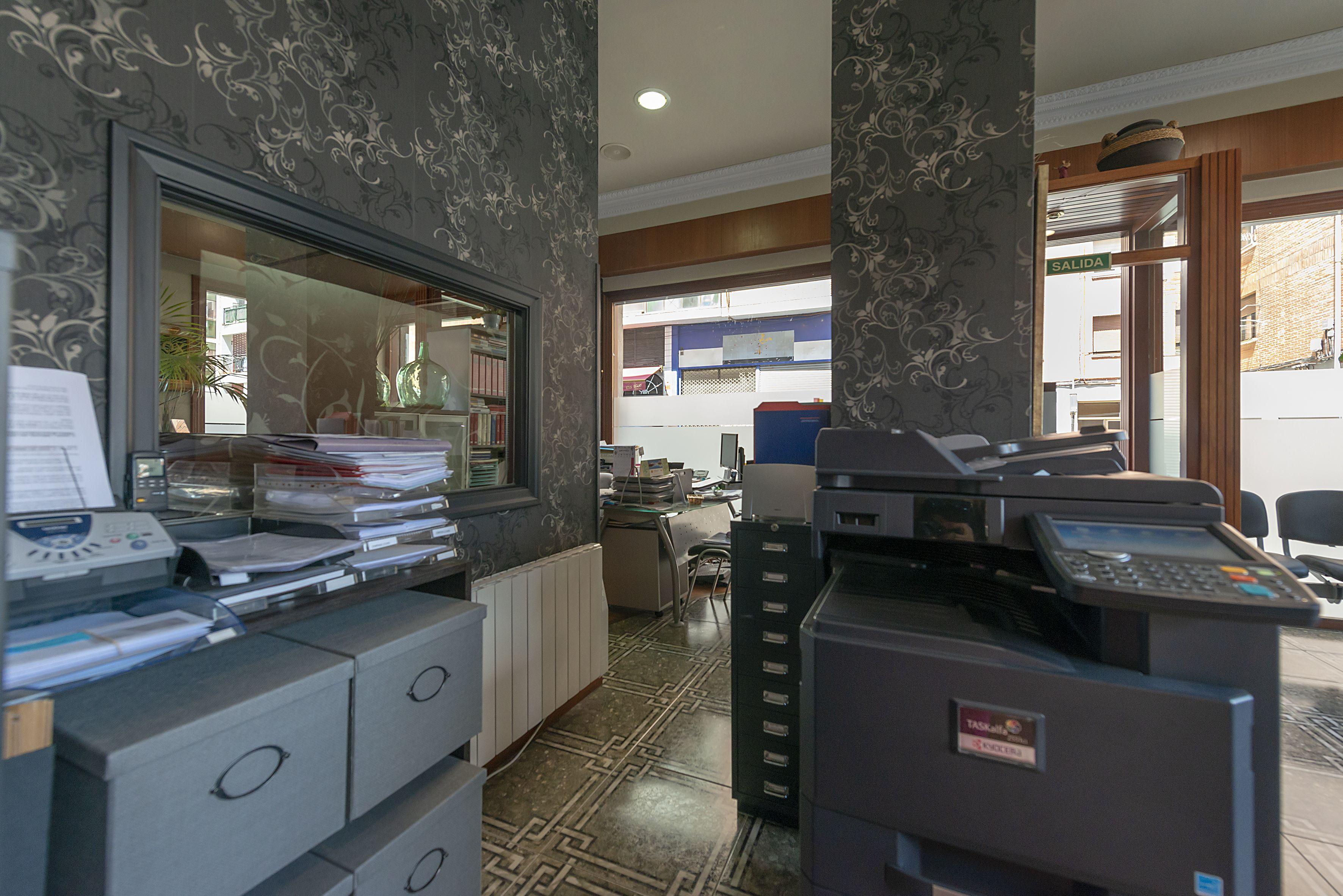 Interior sucursal XOMESA ASESORES, S.L.