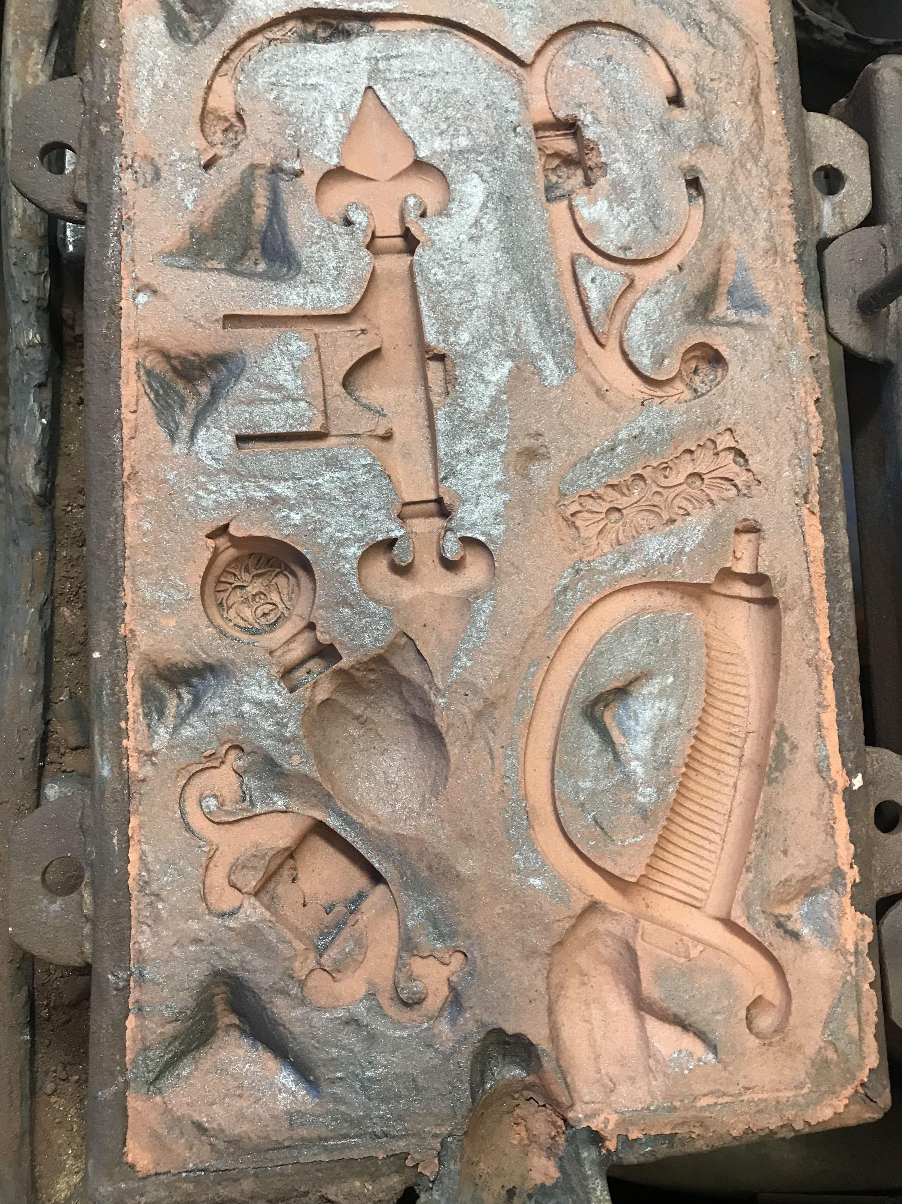 Molde espada Toledo 1