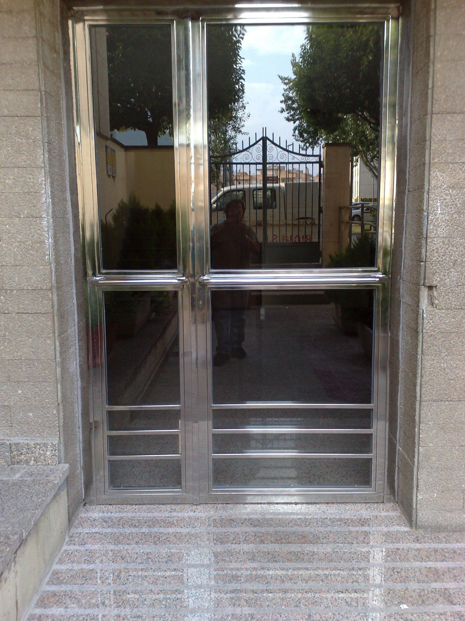 puertas acero inx. logroño