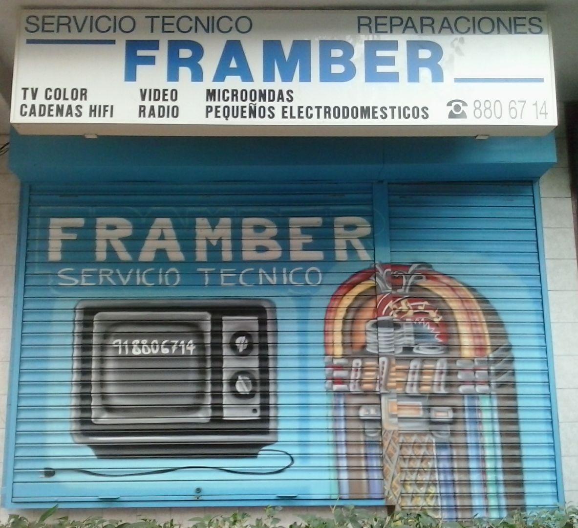 Tienda de reparaciones de electrodomésticos pequeños en Alcalá de Henares