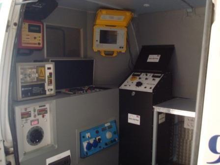 Vehículo laboratorio: Servicios de Ammetronic 96, S.L.