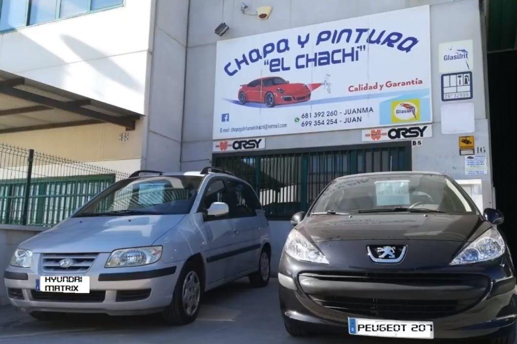 Foto 11 de Talleres de chapa y pintura en  | Chapa y Pintura El Chachi