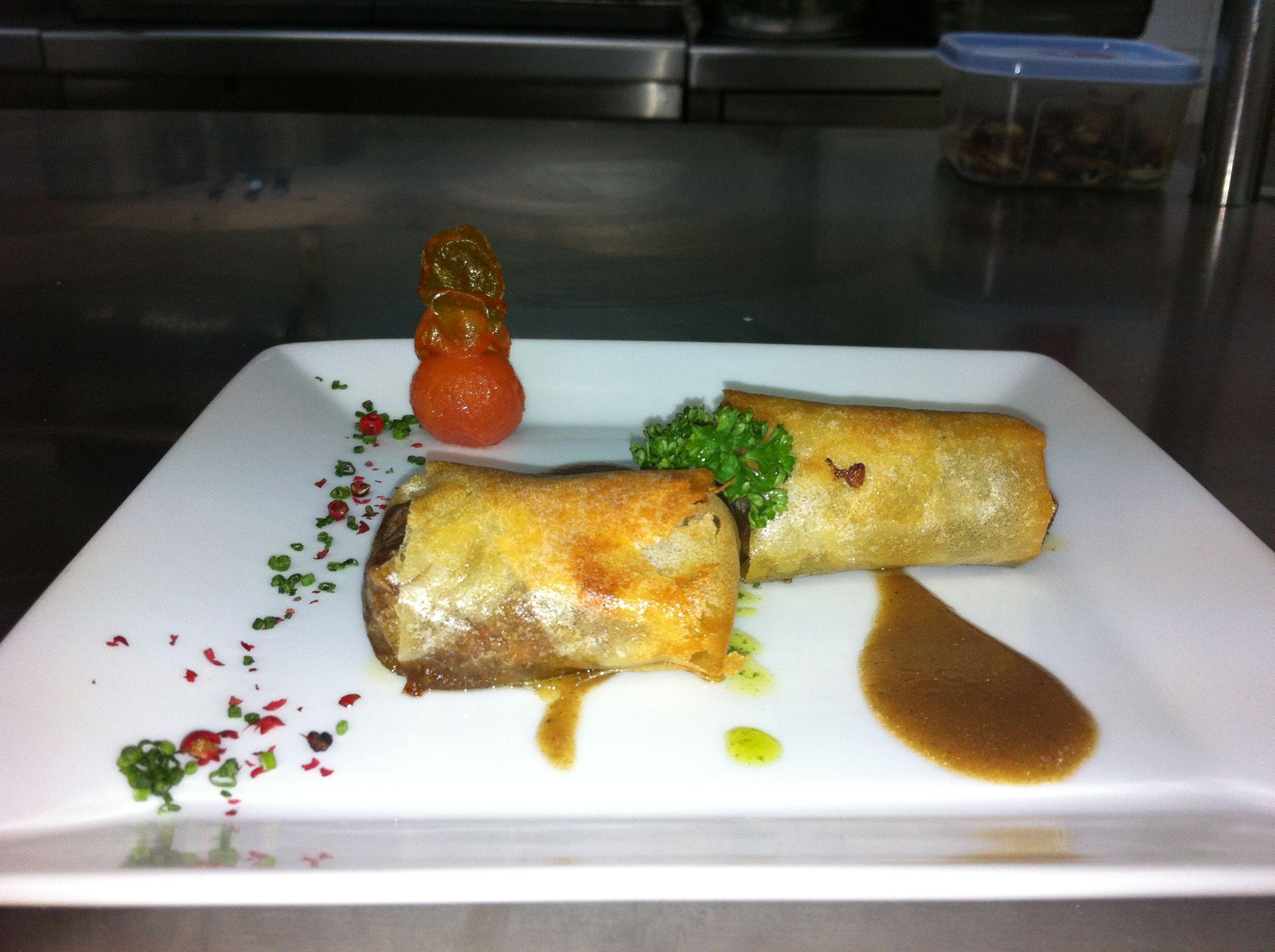 Restaurante con carta y menú en Ávila