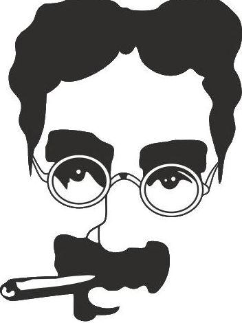 Hoy 2 de octubre nacía Groucho Marx
