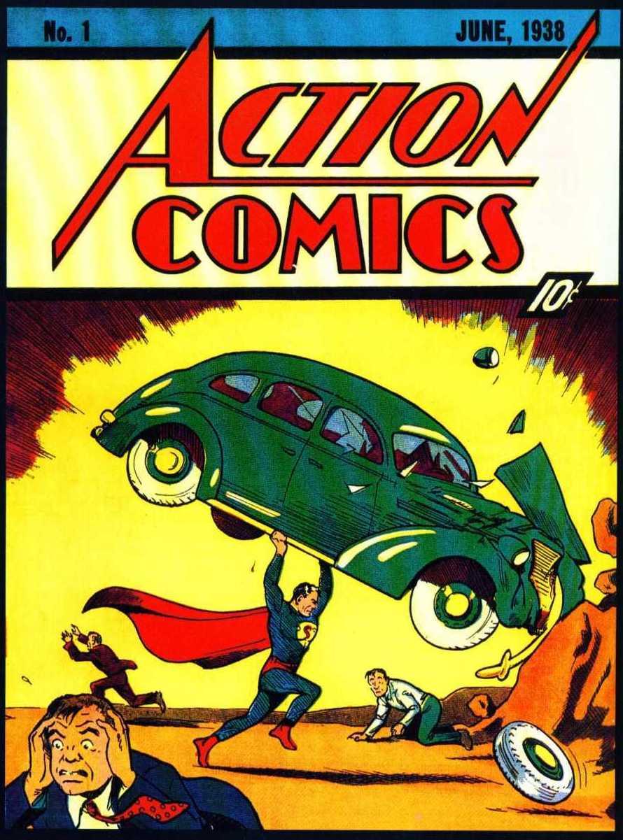 Hoy hace 79 años se pone a la venta la primera historieta de Superman