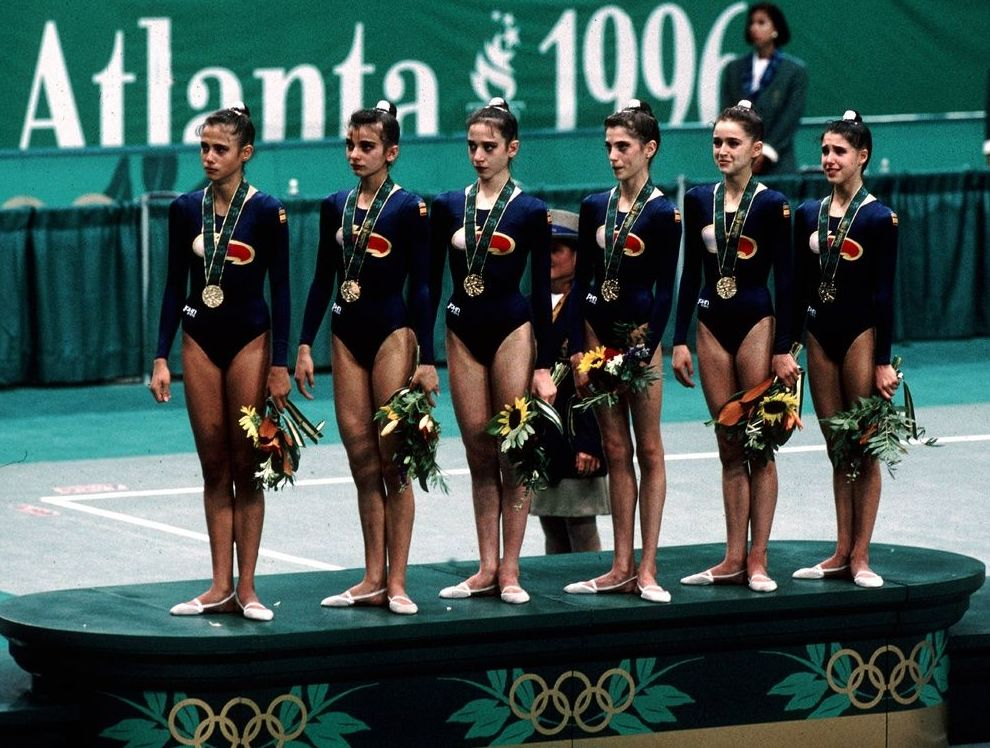 Las chicas de oro. Primera medalla de oro de la gimnasia rítmica