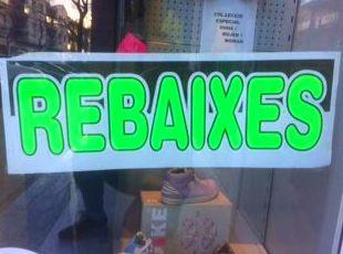 REBAIXES //   REBAJAS