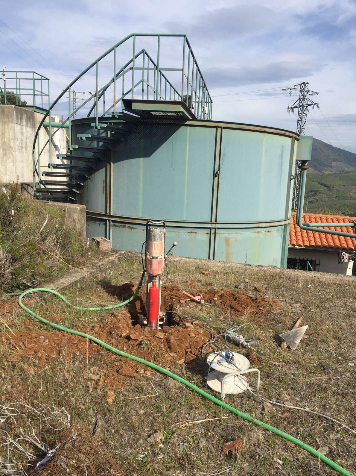 Taladros para depuradoras de agua potable