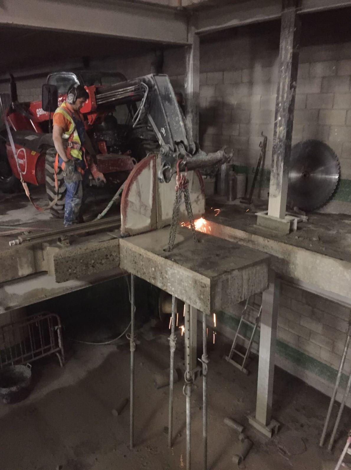 Demolición de forjados