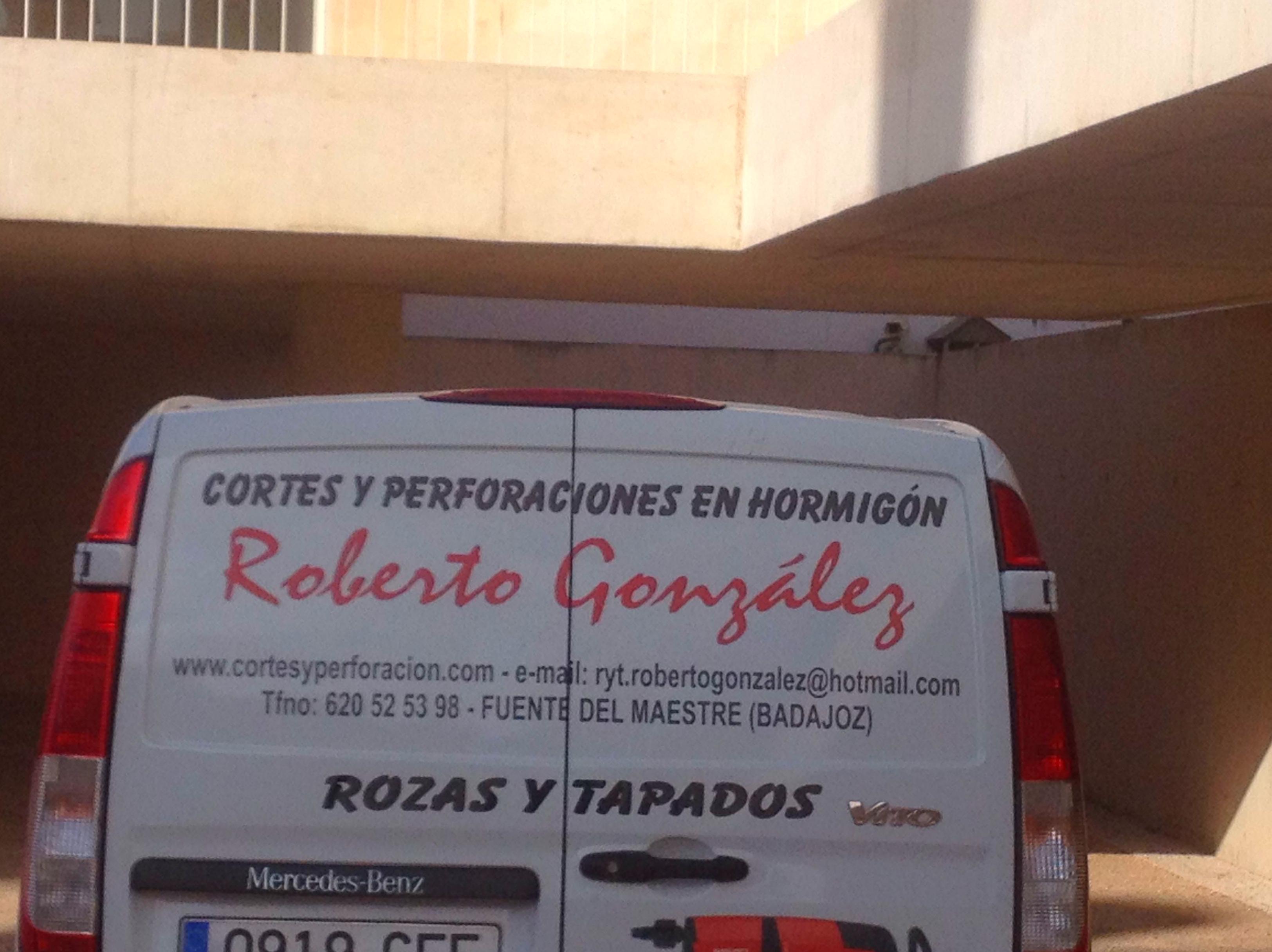 CORTES Y PERFORACIONES ROBERTO GONZÁLEZ.
