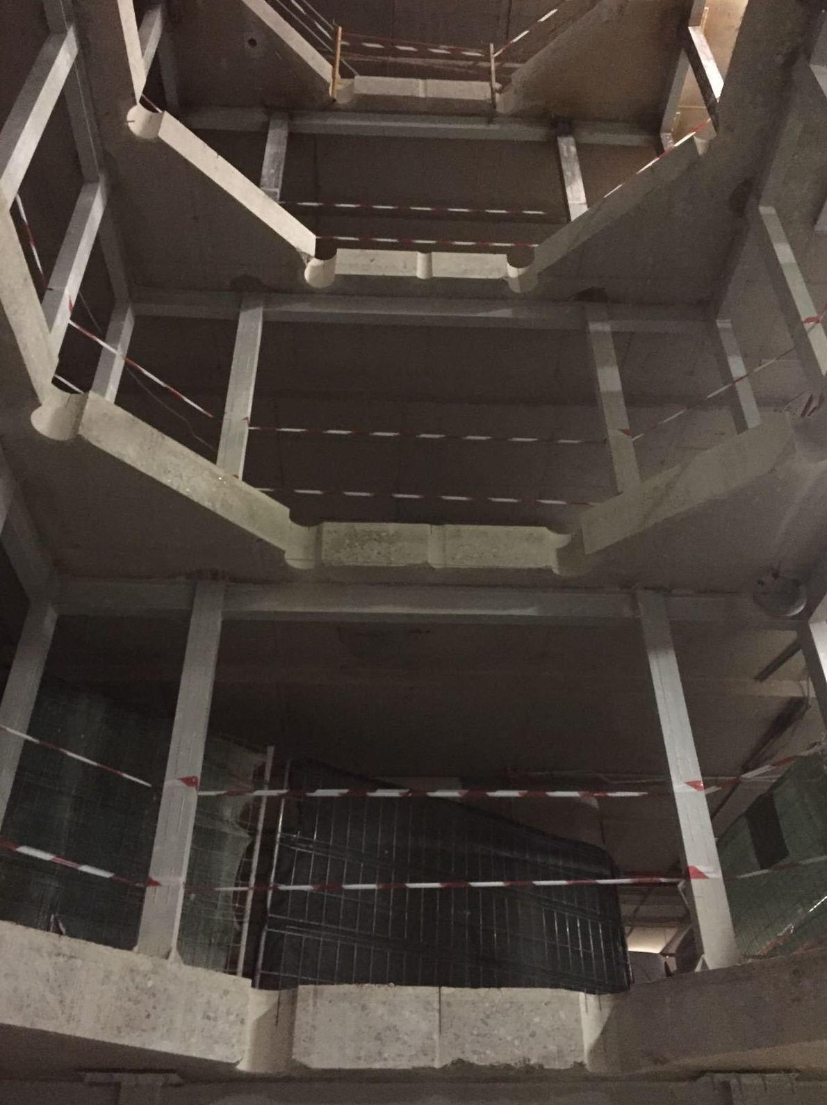 Cortes de cinco por cinco para huecos de escaleras