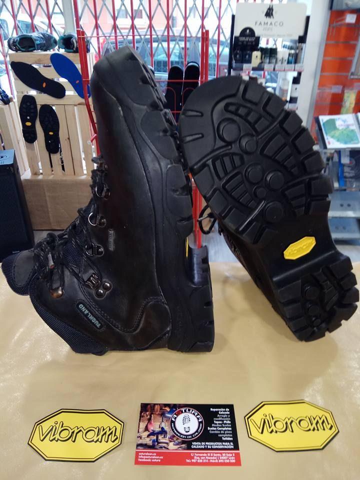 Empresa especializada en reparación del calzado