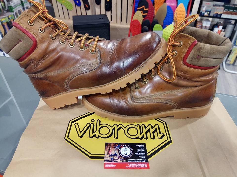 Más de 30 años de experiencia en reparación de calzado en León
