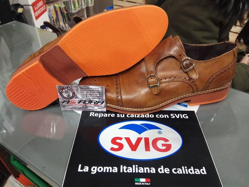 Cambio de todo tipo de suelas de zapatos en León