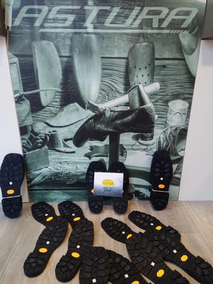 Todo tipo de suelas para la reparación de calzado en León