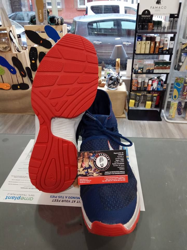 Expertos en reparación de calzado deportivo en León